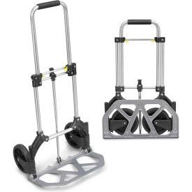 TRAC® Utility Folding Cart 175lb. Capacity, Aluminum - T10042-A