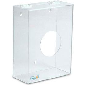 "TrippNT™ Small Clear Acrylic Apparel/Hairnet Dispenser, 9""W x 4""D x 12""H"