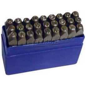 """1/4"""" Import 36 Pc. Letter & Figure Steel Stamp Set"""
