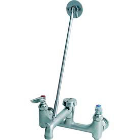 T&S Brass B-0665-BSTR Rough Chrome Service Sink Faucet