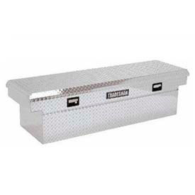 """60"""" Aluminum Mid-Size Crossbed w/ Push Button - Bright 9202DBT"""