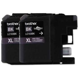 Brother® LC1032PKS, LC1032PKS, encre à haut rendement, rendement Page 600, noir