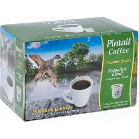 Pintail Coffee Breakfast Blend Decaffienated, Medium Roast, 0.53 oz., 12 K-Cups/Box - Pkg Qty 16