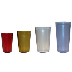 Update Int. 16 Ounce Clear Tumbler