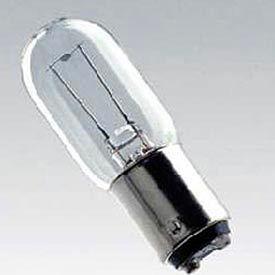 Inc6v-15w/T19x52, T6, 15 Watts, ampoule de 200 heures, Ushio 8000269 Sm-8018, qté par paquet : 12
