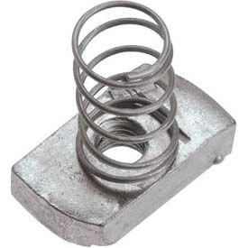 """Unistrut 1-5/8"""" Channel Nut P1010egs, Electro-Galvanized, 1/2-13 - Pkg Qty 100"""