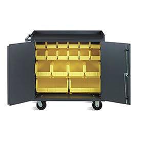 Vari-Tuff Multiple Bin Cabinet - 18 Bins