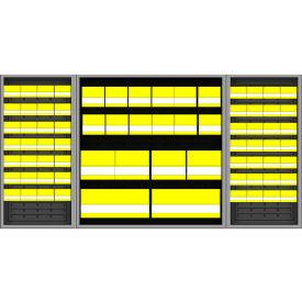 Vari-Tuff Half Cab with 74 Bins