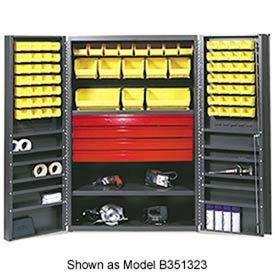 Vari-Tuff Utility Drawer Cabinet - 48x24x78 With 69 Bins