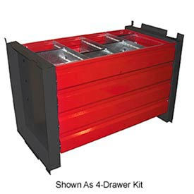 """8-Drawer Kit for 48"""" Cabinet With 18"""" Shelves"""