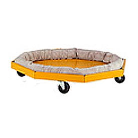 Valley Craft® F89713A6 Drum Dolly with Absorbent Collar
