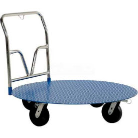 "Vestil Pallet Carousel Cart CC-48 - 48"" Dia. - 2000 Lb. Capacity"