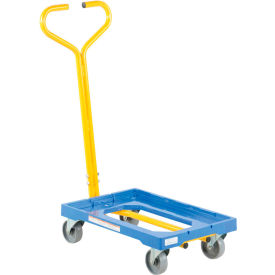 Plastic Dolly with Handle PDH-1624 500 Lb. Capacity