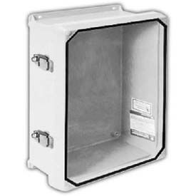 "Vynckier CVJ1412HWPL2 CVJ 14"" X 12"" Non-Metallic Enclosure/Clearview Window/2 Padlockable Latches"