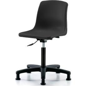 Chaise coque monobloc - noir