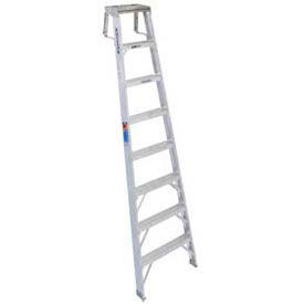Werner SH378CA - 8' Grade 1A Aluminum Shelf Ladder