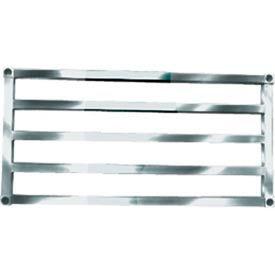 "Sani-Adjustable Aluminum Tubular Shelf, 20"" x 60"""