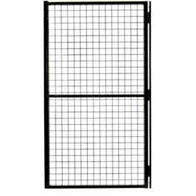 """Husky Rack and Wire, Velox, Machine Guard, DOOR, 4' X 66"""", HLSO/HRSO, Black"""