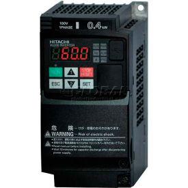 Hitachi Frequency Inverter, 1(1.5) HP, 200-240V, WJ200-007LF
