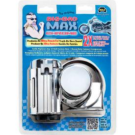WOLO Big Bad Max Compact Air Horn, Chrome - 719