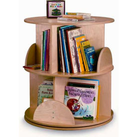 Whitney Brothers Two Level Carousel Book Stand