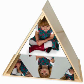 Whitney Brothers Triangle Mirror Tent- Pkg Qty 1