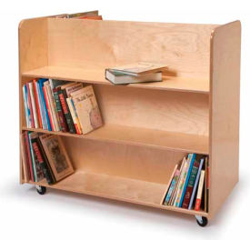 Whitney Brothers Mobile Book Transportation Cart