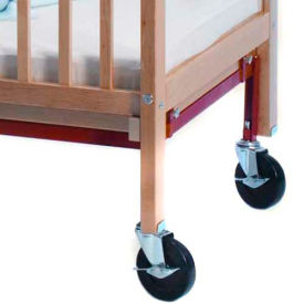Whitney Brothers Fully Braced Crib Caster Set