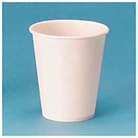 White Paper Water Cups, 3 Oz. Size, 100 Cups/Bag, 50 Bags/Carton
