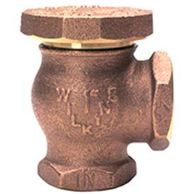 Zurn 34-35XL 3/4 In. Atmospheric Vacuum Breaker - FNPT x FNPT - Lead-Free Bronze