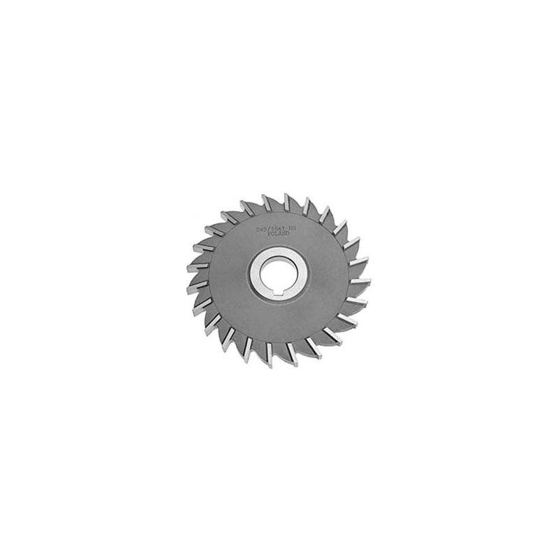 3 DIA x 1//2 Face x 1-1//4 Hole HSS Import Plain Teeth Side Milling Cutter