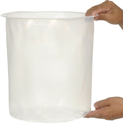 Global Industrial™ 5 Gallon Drum Insert Smooth 15 Mil Thick - Pkg Qty 100