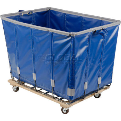 Dandux Vinyl Basket Bulk Truck 400720G12U-3S 12 Bushel - Blue