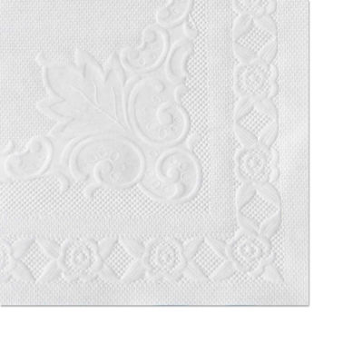 Hoffmaster® HFM601SE1014, Classic Embossed Placemats , White, 1000/Carton