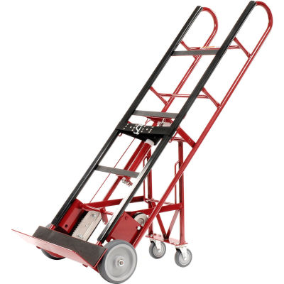 Global Industrial™ 4-Wheel Professional Appliance Hand Truck, 1200 Lb. Capacity