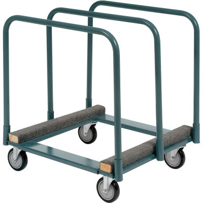 Panel & Sheet Mover Truck with Carpet Padded Steel Deck 1200 Lb.