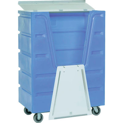 Dandux Blue Hopper Front Security Bulk Truck 51-2460SU 48 Cu. Ft.