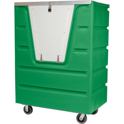 Dandux Green Hopper Front Security Bulk Truck 51-2560SE 58 Cu. Ft.