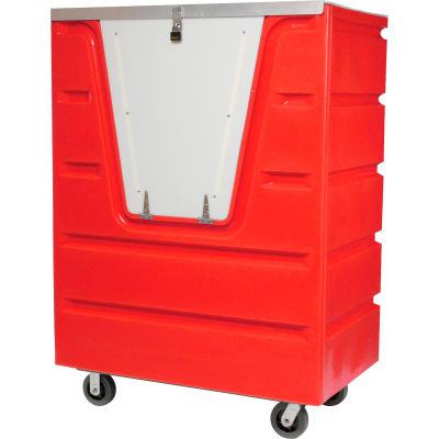 Dandux Red Hopper Front Security Bulk Truck 51-1460SR 38 Cu. Ft.