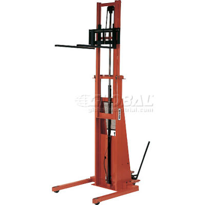 PrestoLifts™ Battery Power Straddle Stacker PST2107-50 Fixed Legs 2000 Lb.