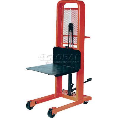 PrestoLifts™ Hydraulic Stacker Lift Truck M178 1000 Lb. with Platform