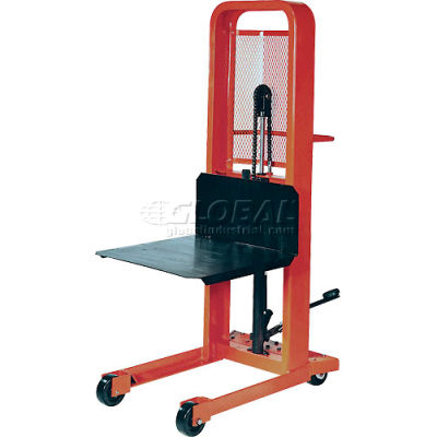 PrestoLifts™ Hydraulic Stacker Lift Truck M378 1000 Lb. Cap. with Platform