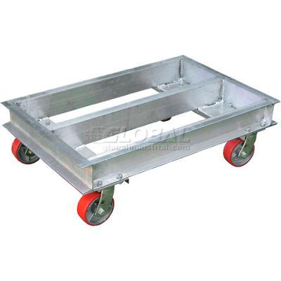"""Aluminum Caster Dolly ACP-2136-20 36""""L x 21""""W 2000 Lb. Capacity"""