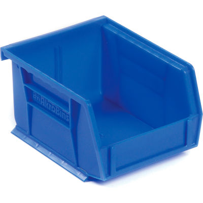 "Akro-Mils® AkroBin® Plastic Stacking Bin, 4-1/8""W x 5-3/8""D x 3""H, Blue - Pkg Qty 24"