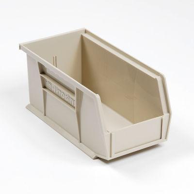 "Akro-Mils® AkroBin® Plastic Stack & Hang Bin, 5-1/2""W x 10-7/8""D x 5""H, Stone - Pkg Qty 12"