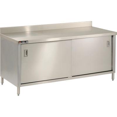 "Aero Manufacturing 2TSBOD-2460 60""W x 24""D Cabinet Workbench With Sliding Doors"