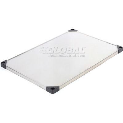 "Nexel® S1836SS Stainless Steel Solid Shelf 36""W x 18""D"