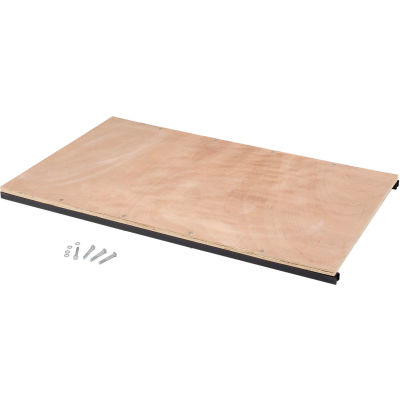 Global Industrial™ Additional Shelf Kit for 48 x 24 High End Wood Shelf Truck