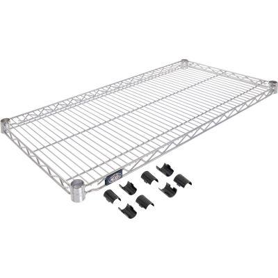 """Nexel® S1836C Chrome Wire Shelf 36""""W x 18""""D"""