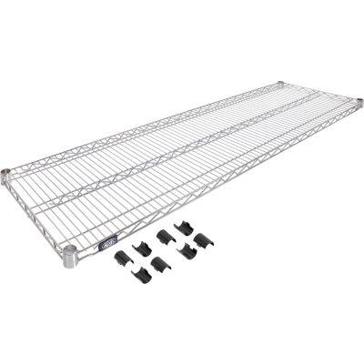 """Nexel® S1872C Chrome Wire Shelf 72""""W x 18""""D"""